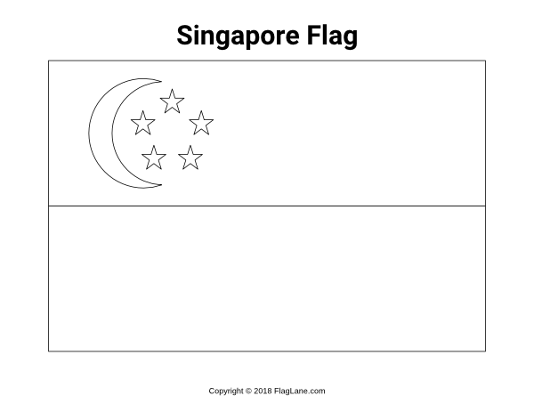 Free Printable Singapore Flag Coloring Page Download It At Https Flaglane Com Coloring Page Singaporean Fl Singapore Flag Flag Coloring Pages Coloring Pages