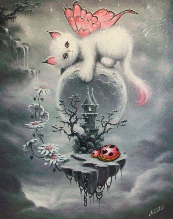 """Résultat de recherche d'images pour """"féerique chat   qui bouge"""""""