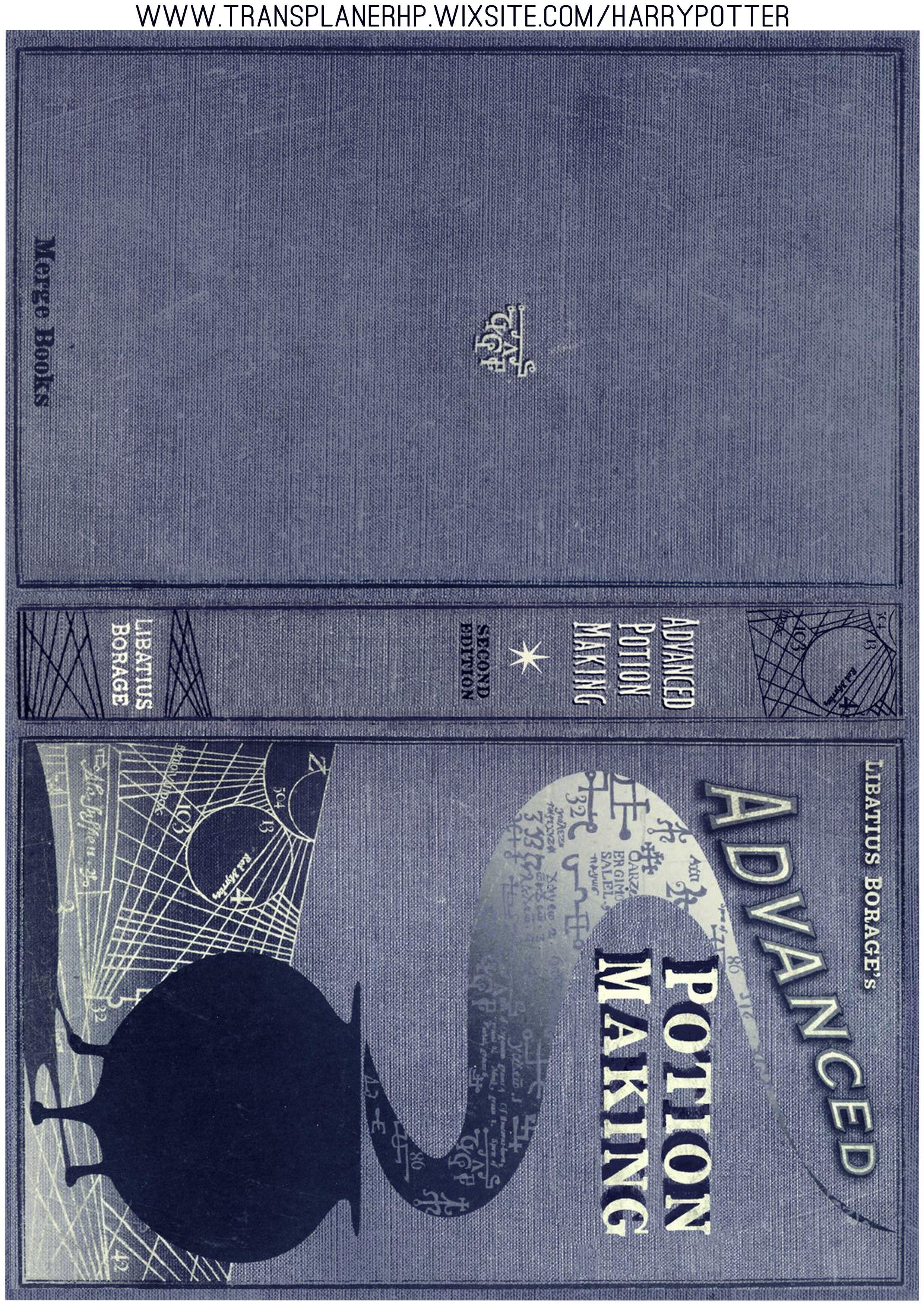 Diy Livre Des Potions Carte Harry Potter Harry Potter Noel Dessin Harry Potter