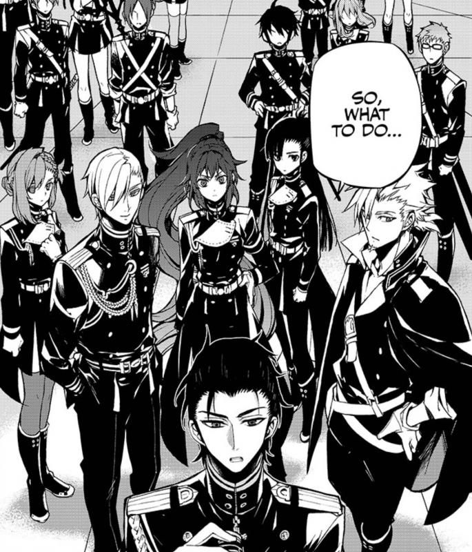 Manga Anime Company: Owari No Seraph - Moon Demon Company