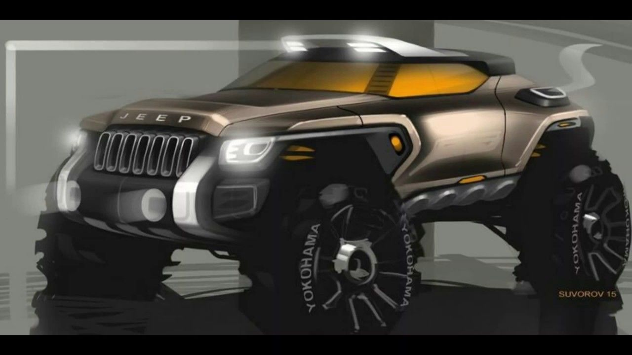 Modified Jeeps 20 Best Designs Jeep Concept Futuristic Cars