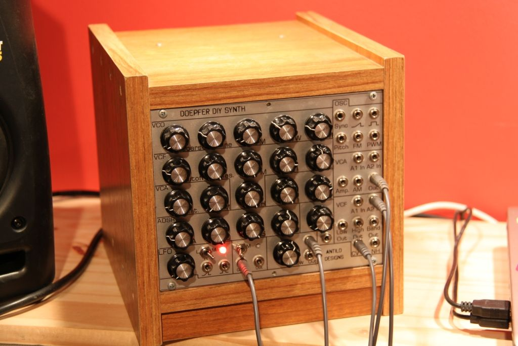 Diy synth customer examples elektronik musik