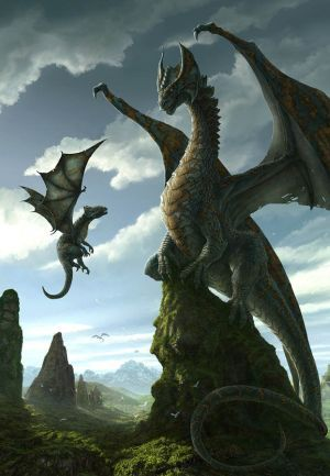 Dragons: were they or weren't they real?I I think so!