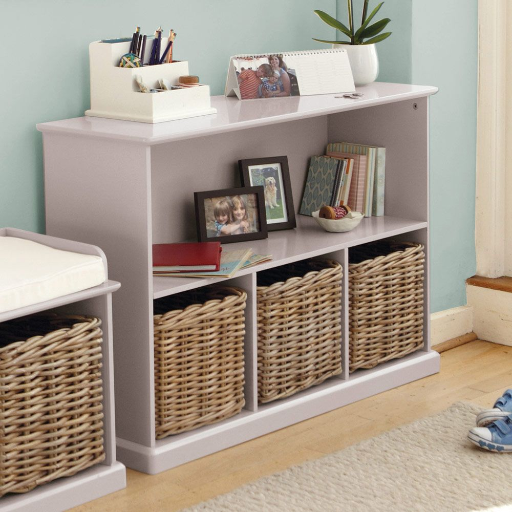 Abbeville Storage Shelf Unit, Stone   Storage