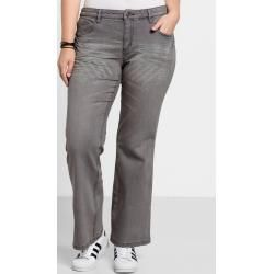 Große Größen: Bootcut-Stretch-Jeans Maila, grey Denim, Gr.52 Sheego