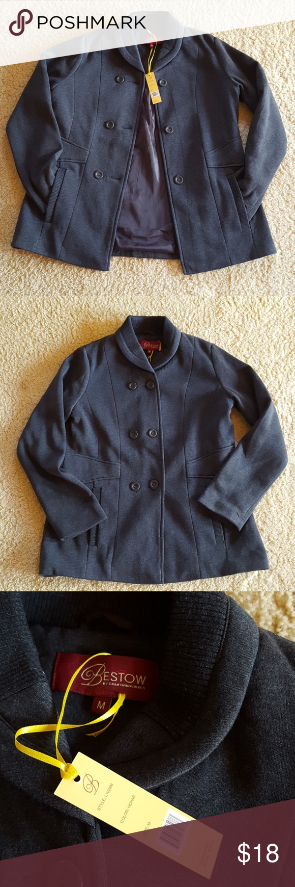 Bestow By California Blues Outerwear Bestow By California Blues Outerwear Jacket Coat It Is Very Warm And Comfortable D Blue Outerwear Fashion Clothes Design [ 1740 x 580 Pixel ]