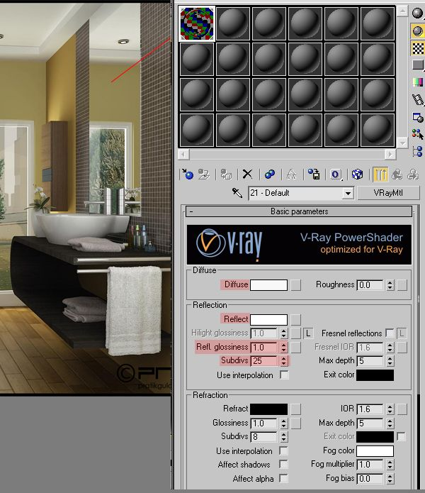 Tutorial Achieving Realistic Results With 3ds Max V Ray Vray Pinterest 3ds Max And 3d