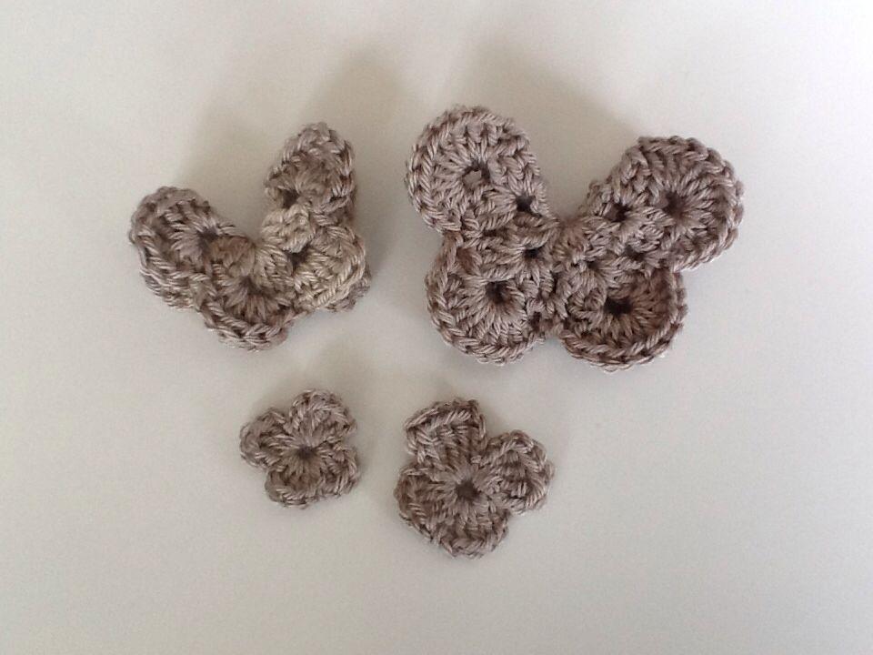 Vlindertjes Haken Crochet Butterflies