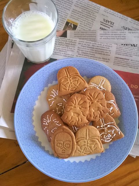 Star Wars cookies Cozinha da Tissi Pinterest Star wars cookies