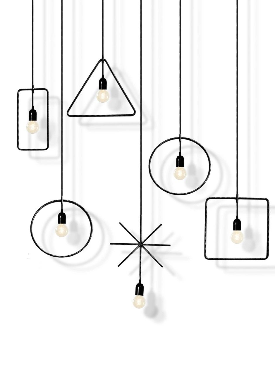 Geometry Made Easy Lights by MICROmacro made in Italy on CrowdyHouse