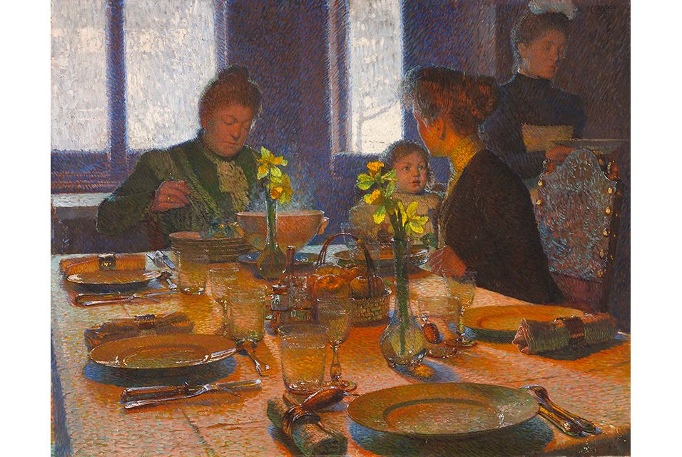 A painting by Austrian painter Carl Moll to complement the
