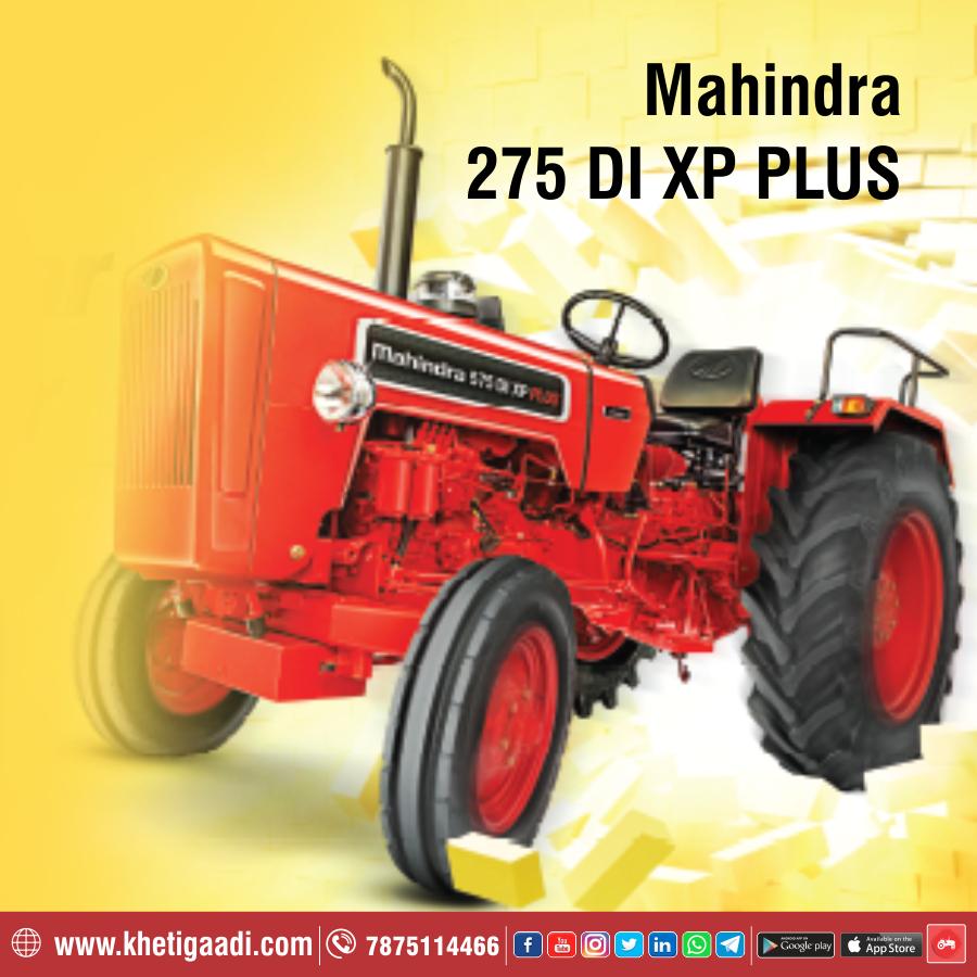 Mahindra 275 Di Xp Plus Mahindra Tractor Tractors New Tractor