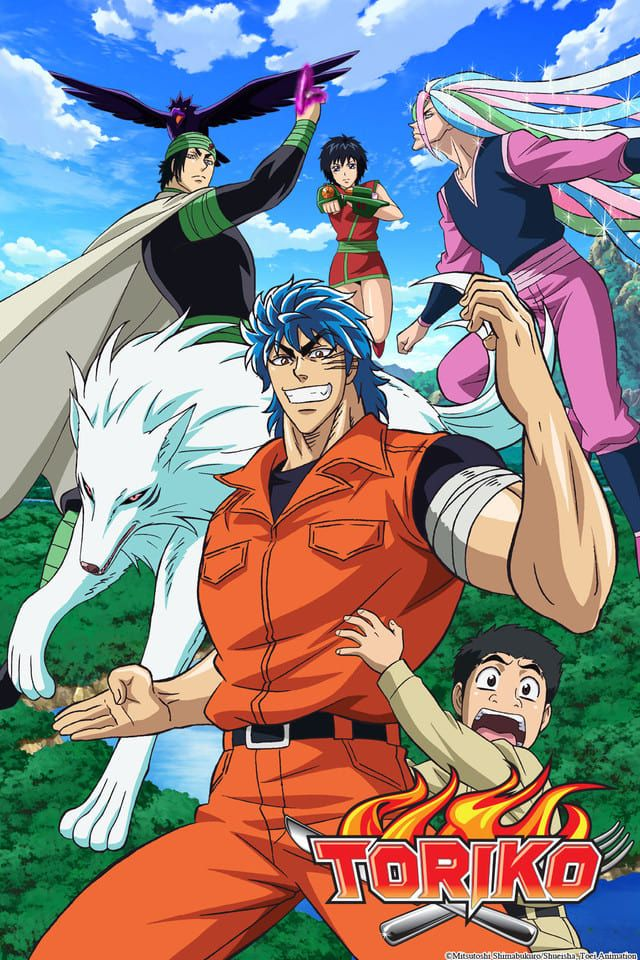 Toriko in 2020 Anime, Manga, Comic book cover