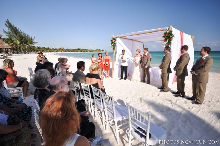 Wedding Photo Session At Barcelo Maya Resort Photography