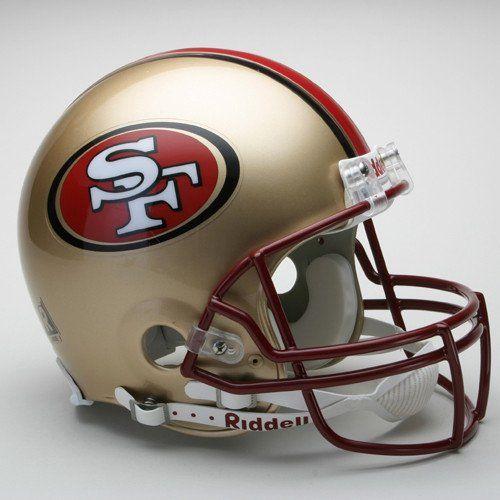 San Francisco 49ers 1996-2008 Throwback Pro Line Helmet