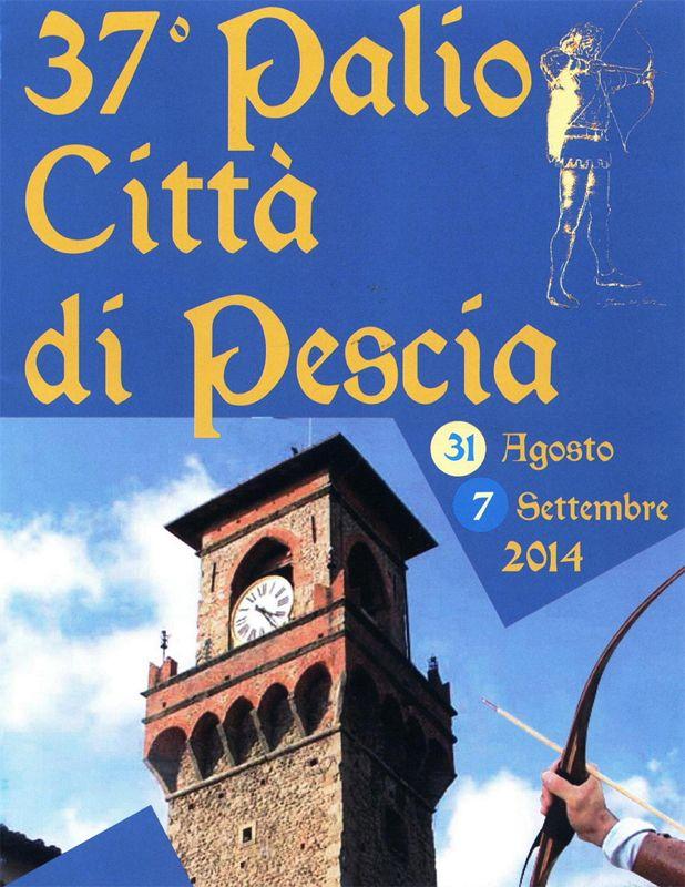 Palio di Pescia nahe Pistoia Toskana