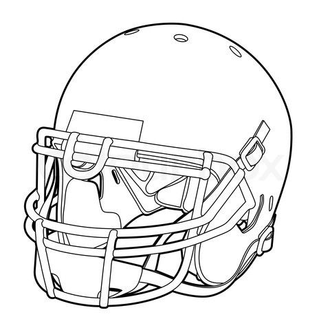 football helmet coloring pages printable | The Coloring ...