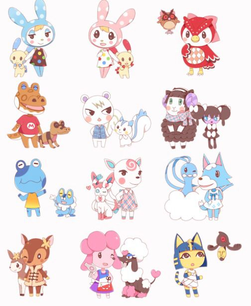 Ok This Is Really Cute Animal Crossing Characters Animal