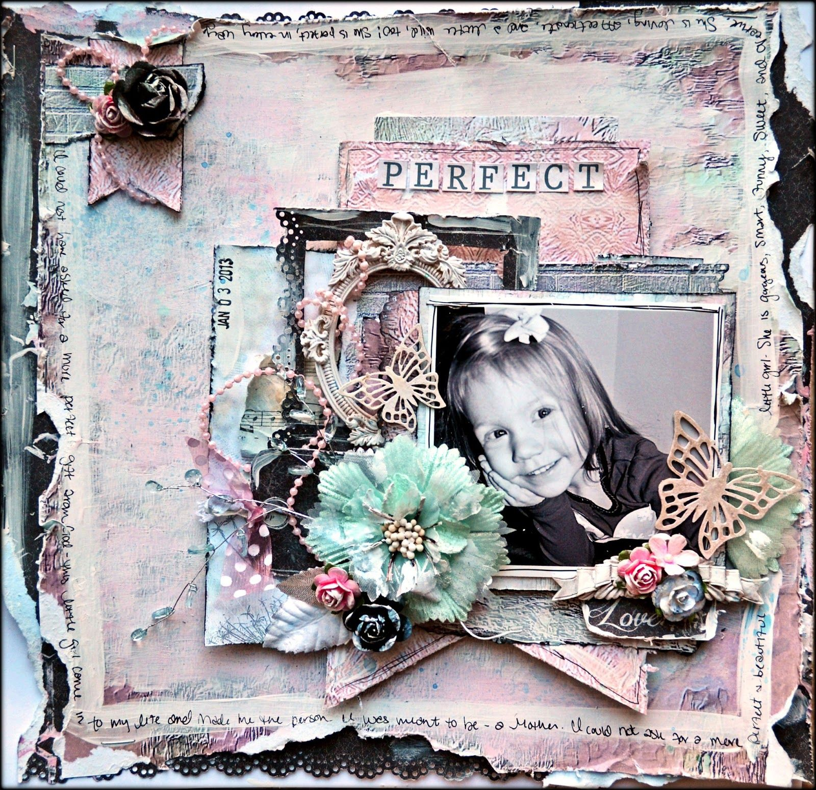 "Kelly Foster: All The Pretty Things: ""Perfect"" FUL Mojo Monday Sketch Inspiration"
