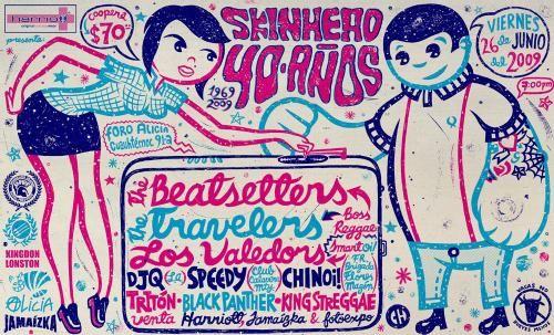 Skinhead 1969-2009 : actualizando para poner la propa de un muy buen evento selebrando los 40 años de la forma de vida skinhead!   buena musica buen lugar buenos amigos para ese dia (Y)!!!!!   saludos a todos!   hasta siempre!!!   ...ººº Salud Ska & Reggae ººº...     | pe0ple_strange