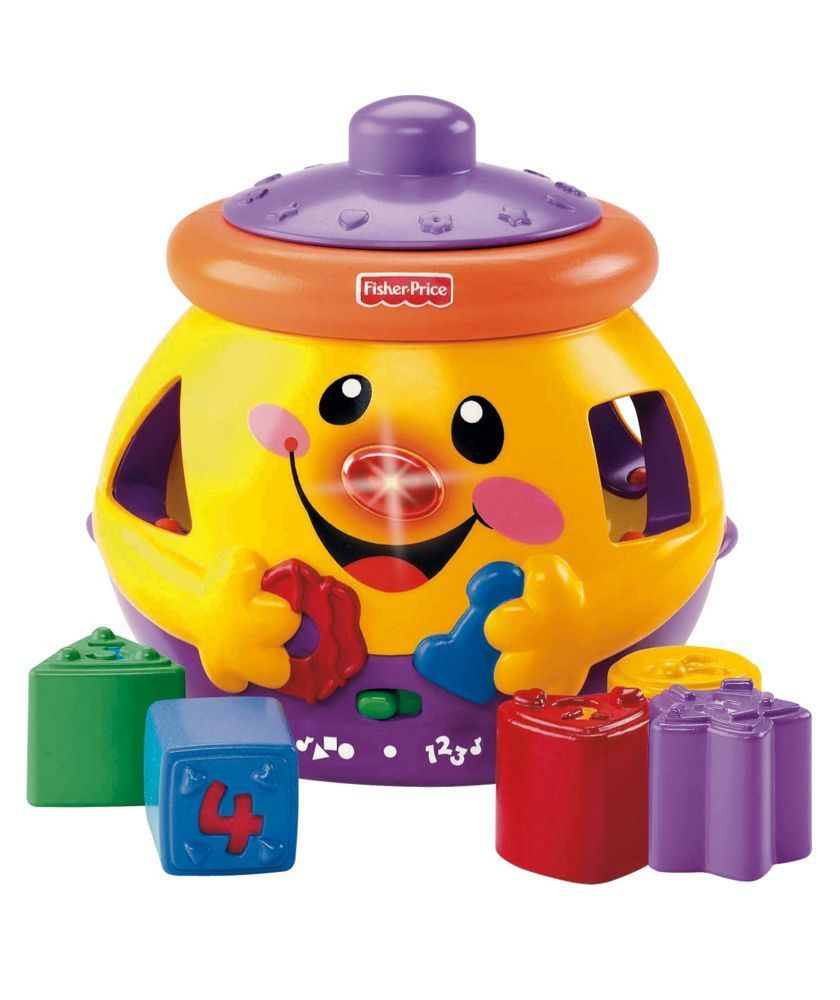 Buy Fisher Price Laugh Learn Cookie Shape Surprise Early Learning Toys Argos Baby Activity Toys Early Learning Toys Fisher Price