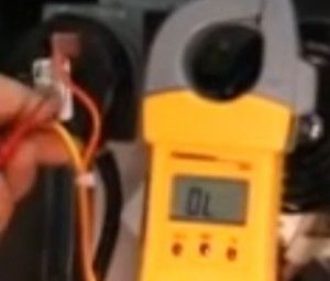 Multimeter Testing Pressure Switch Gas Furnace Hvac Pressure