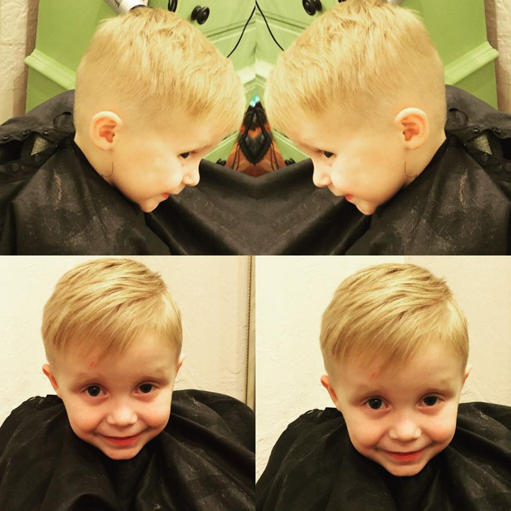 Haircuts For Toddler Boy With Thin Hair 40 Sweet Little Boy