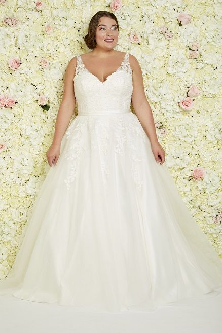 Los Angeles Callista Plus Size Wedding Dresses Prinzessin Ball