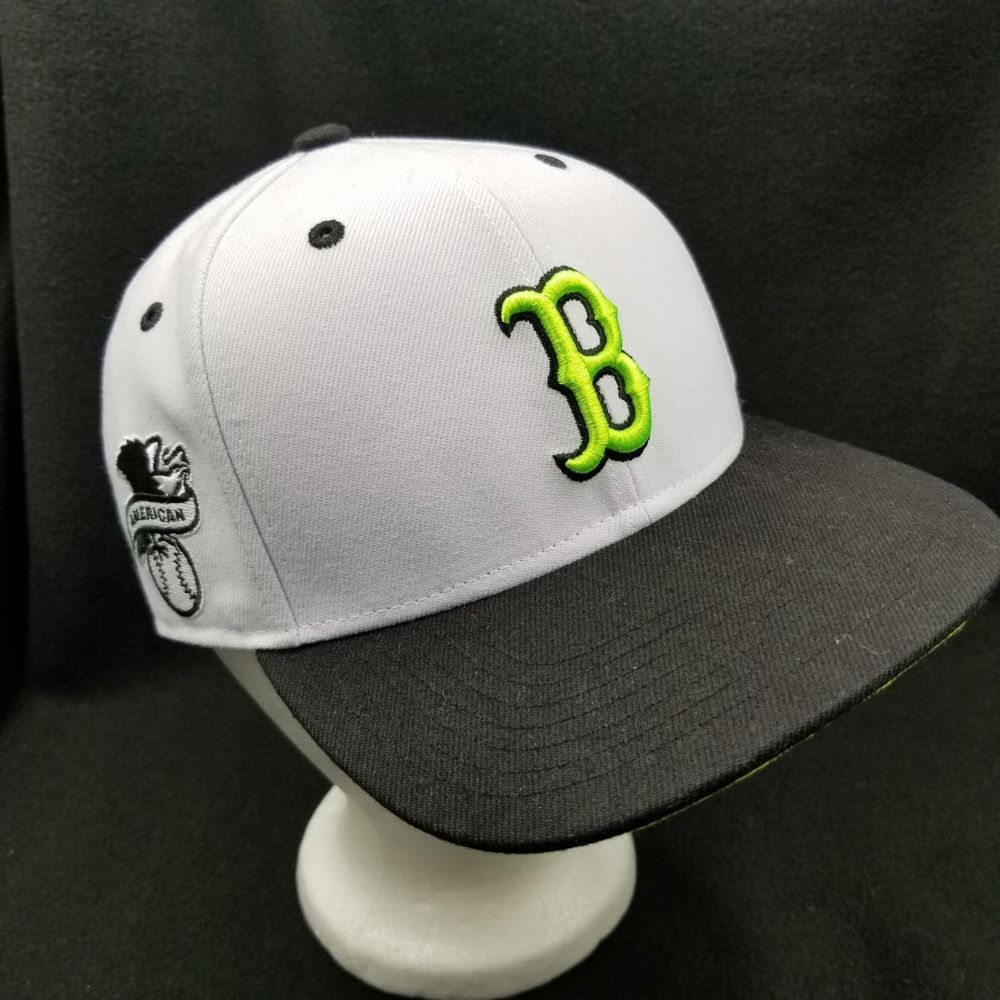 d868f159c2ff8 Boston Red Sox MLB Cap White Neon 47 Brand Twins Clean Up Kids Embroidered  B  TwinsEnterprises  BostonRedSox  redsox  mlb  47brand  baseball