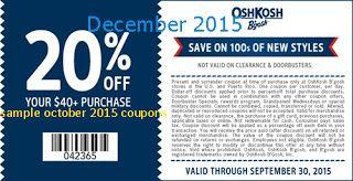 picture about Oshkosh Printable Coupon called No cost Printable Discount codes: OshKosh Bgosh Discount codes very hot discount coupons