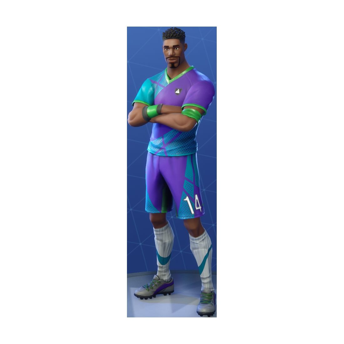 Zombie Soccer Skin Fortnite Png Super Striker Outfit Fnbrco Fortnite Cosmetics Di 2020