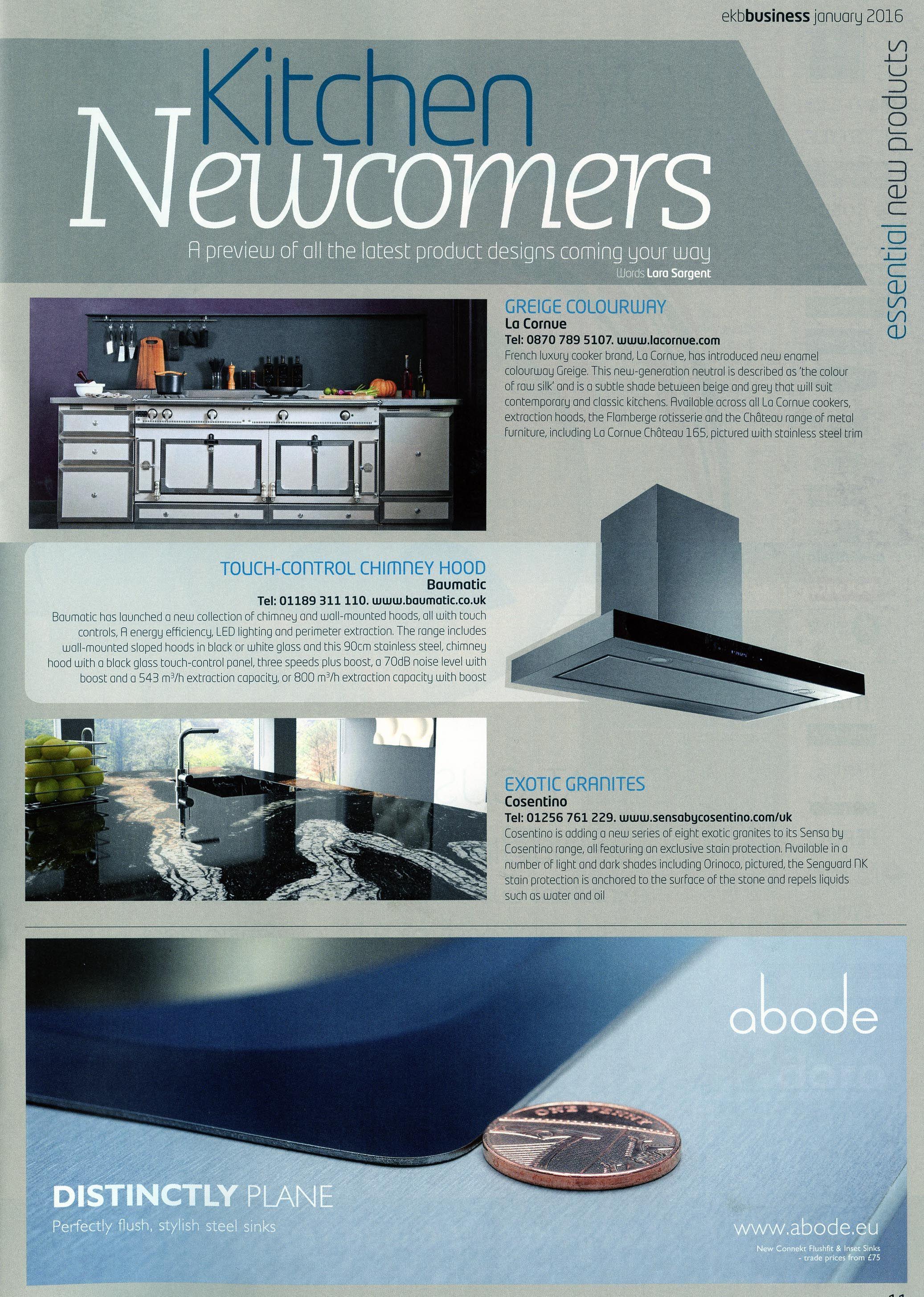 The new luxurious enamel colourway Greige cooker from La Cornue http ...