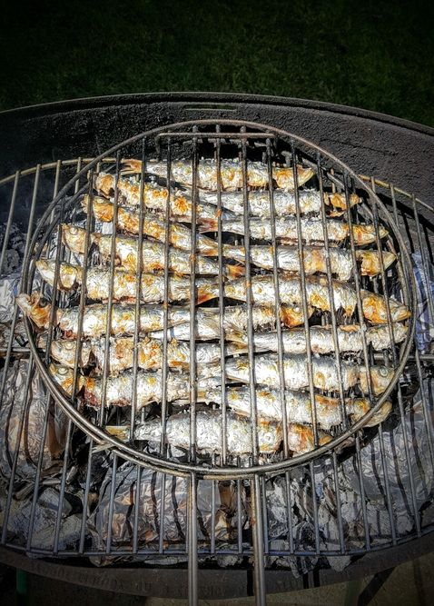 how to prepare sardines for grilling