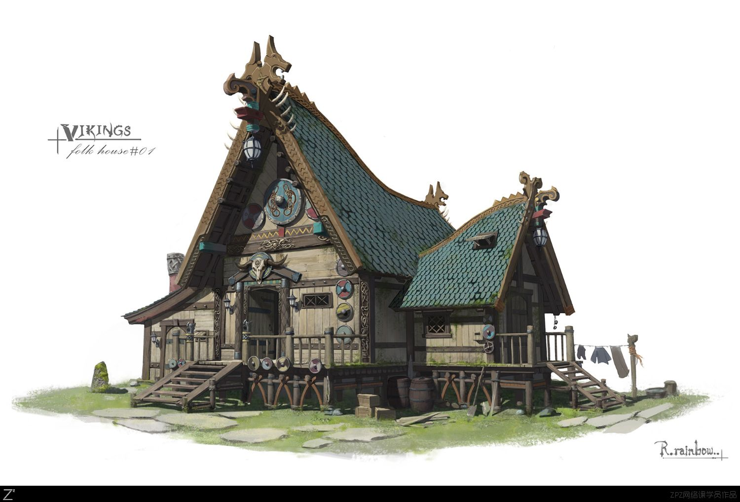 Pin By Drstrelok On Nordic Viking House Medieval Houses Scandinavian Architecture