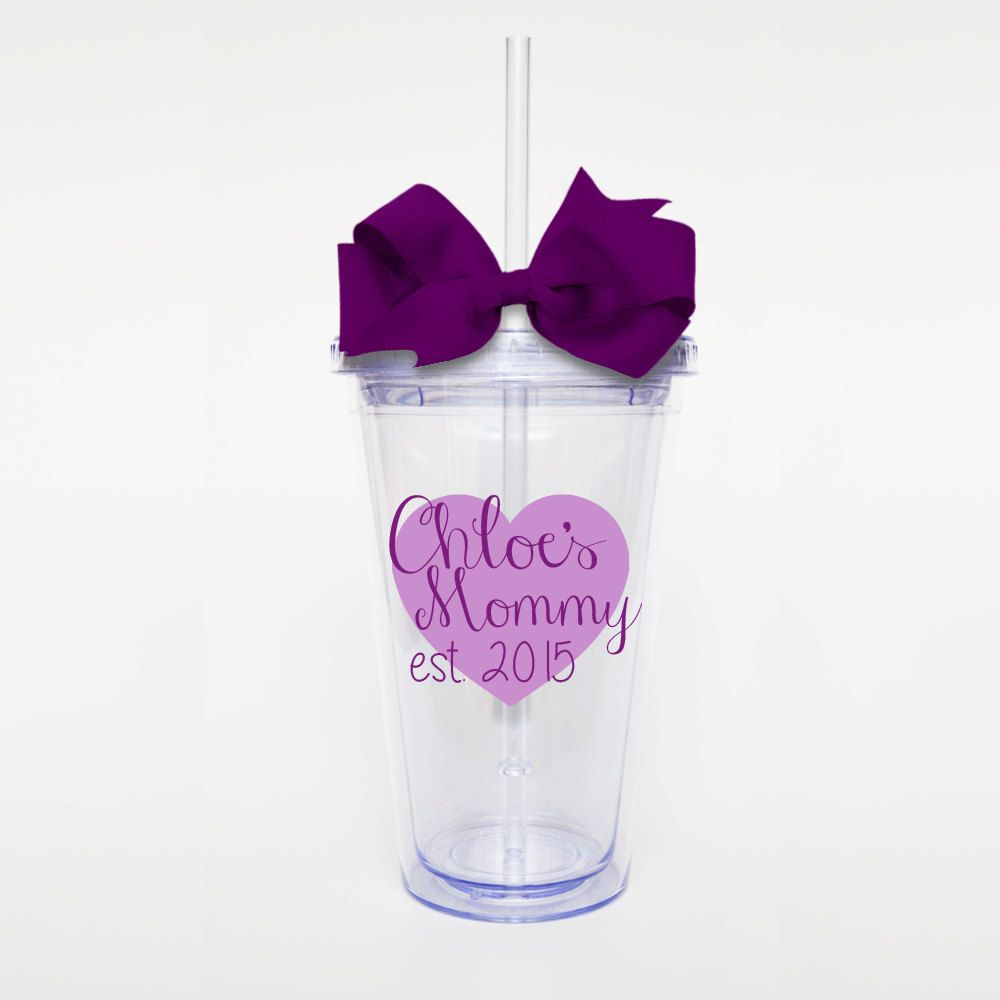 Our personalized acrylic tumblers hold 16 oz. and are double wall insulated. Each comes with a screw on lid with rubber gasket and a matching straw with guard. Our tumblers fit in any standard drink holder and are BPA free. Please choose colors from the color chart above when purchasing. This is for the graphics only. All cups are clear. You may leave any other information such as personalization in the message box when purchasing.  These tumblers are HAND WASH ONLY. We use the highest…
