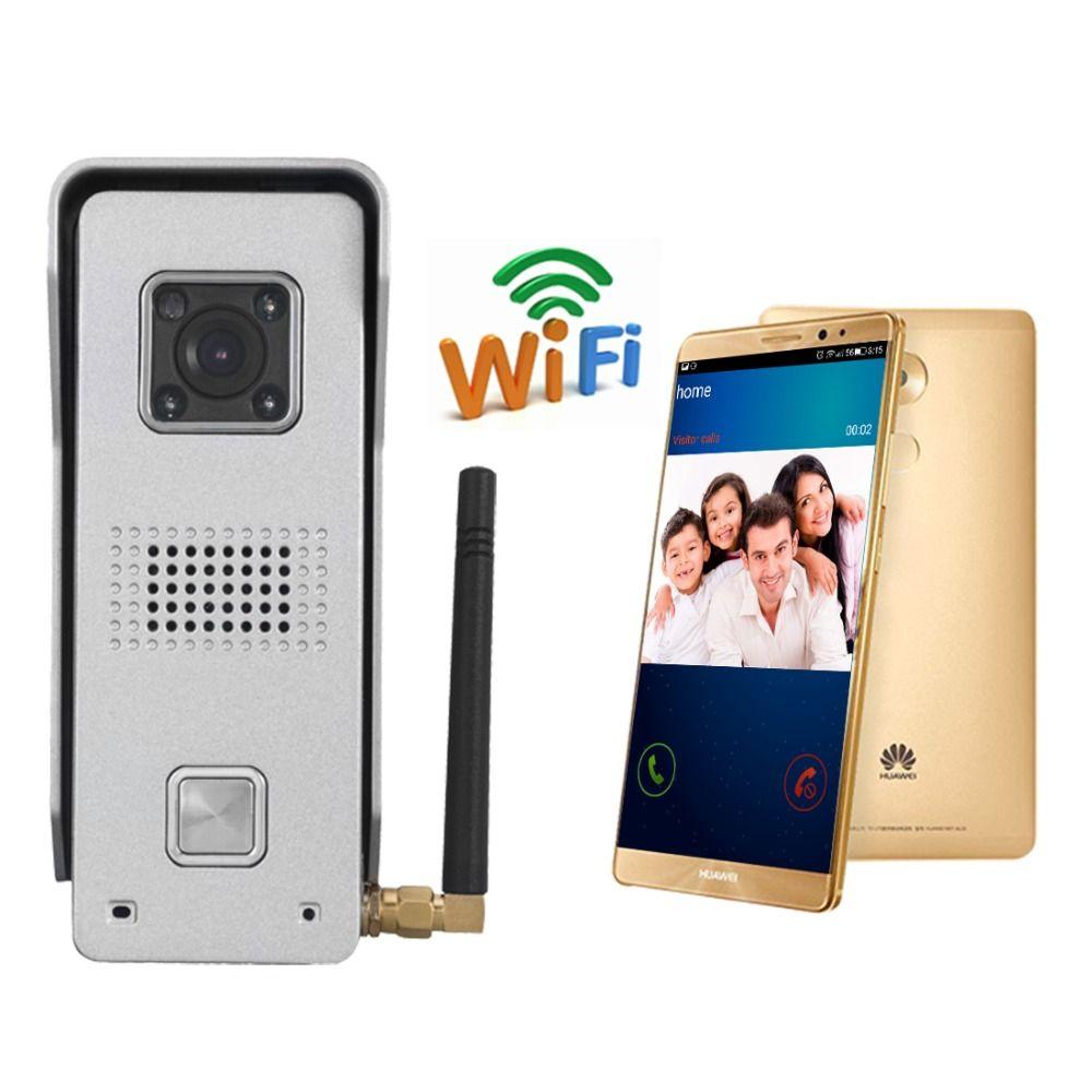WiFi Wireless Video Door Bell Wireless Video Door Phone Ip Door Phone  Remote Unlock Mobile Phone