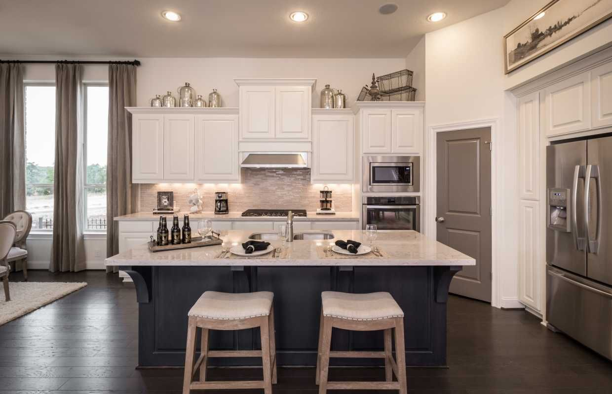 New Home From Highland Homes Above Kitchen Cabinets Kitchen Cabinets Decor Decorating Above Kitchen Cabinets
