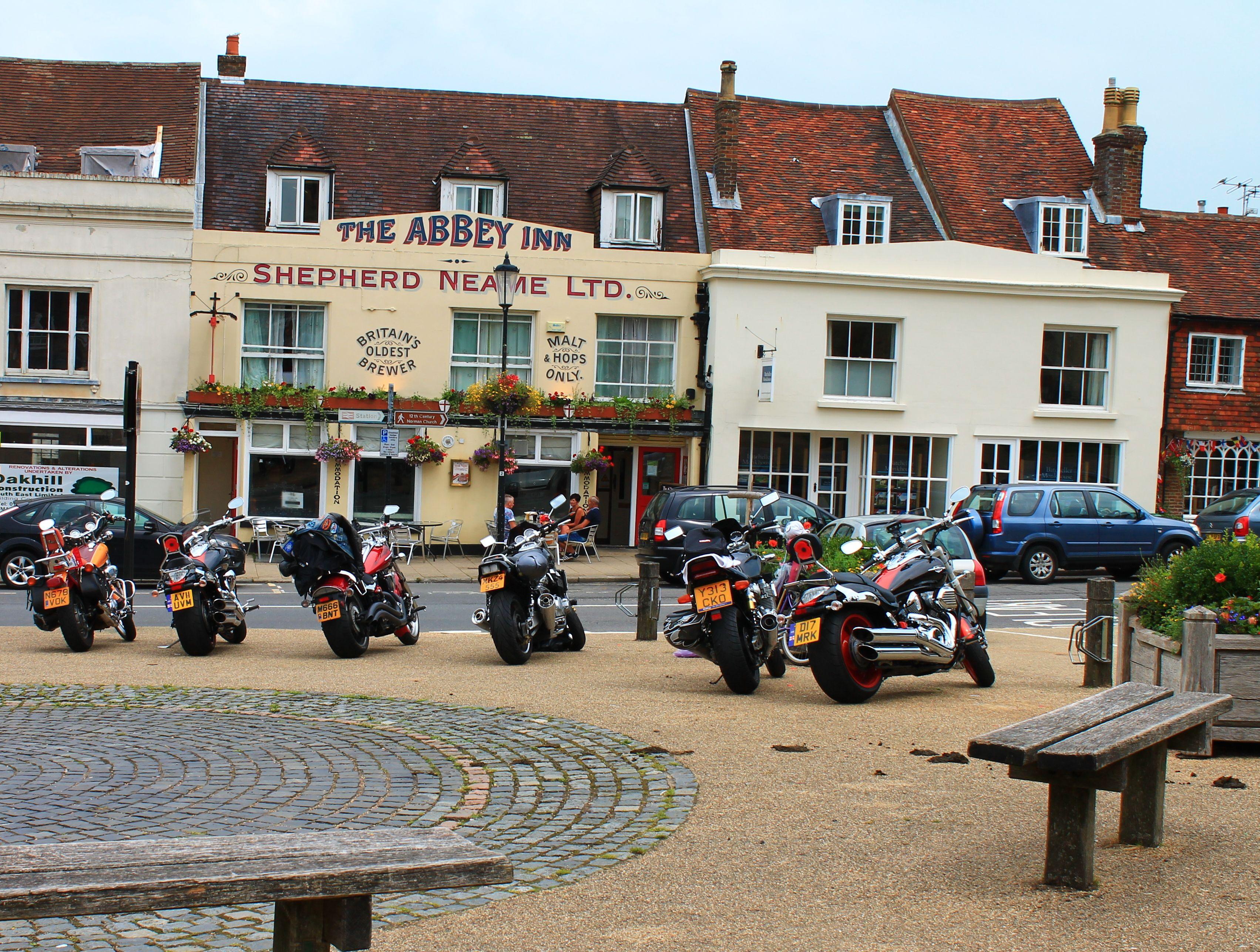 The Abbey Inn, Battle, East Sussex.