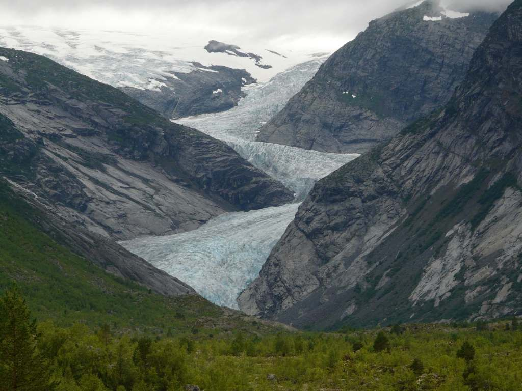 Largest glacier in Europe