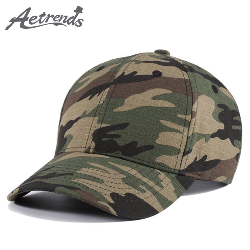 c605d8a82b4  AETRENDS  2018 New Spring Summer Camouflage Baseball Cap Men Women Cotton  Sport Polo Hat Snapbacks Z-6260   Price   13.18  technology