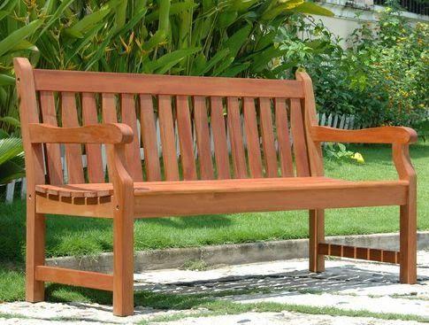 Resultado de imagen para bancas de madera modernas para for Bancas de madera para jardin