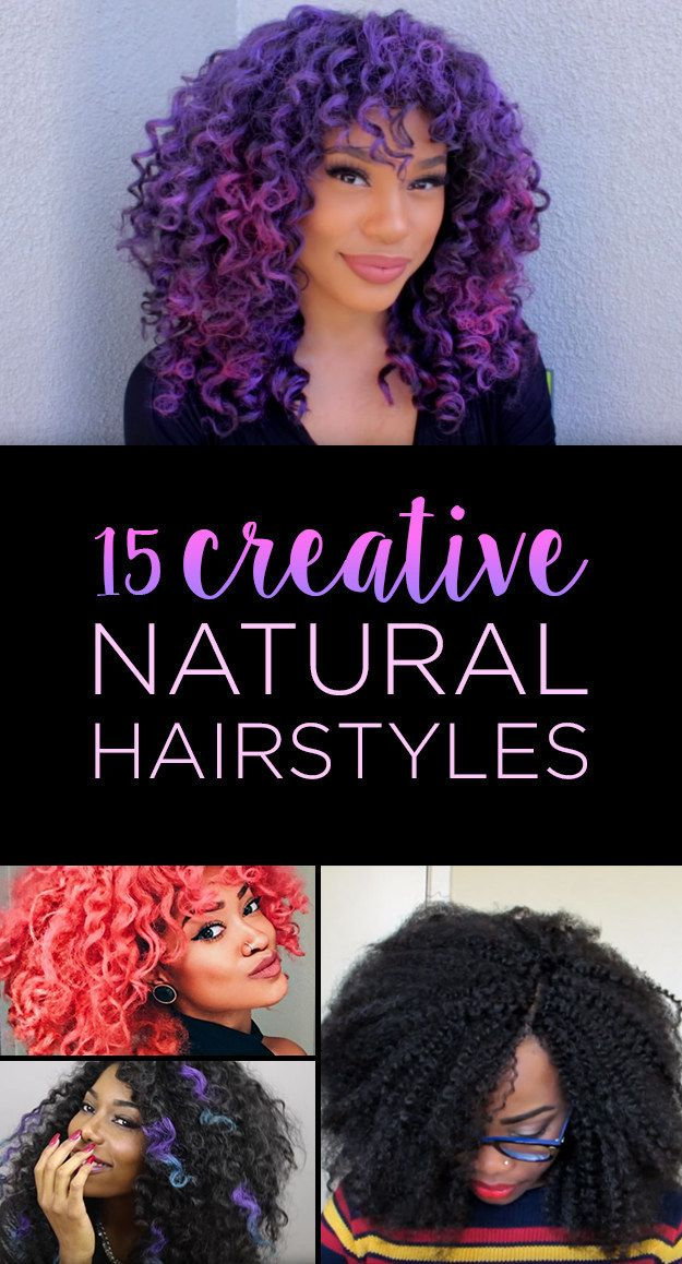 15 Amazing Natural Hairstyles You Can Actually Diy Beauty Nails
