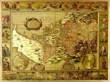 English foil art old world map print reproduced in gold foil 8x6 english foil art old world map print reproduced in gold foil 8x6 go to gumiabroncs Image collections