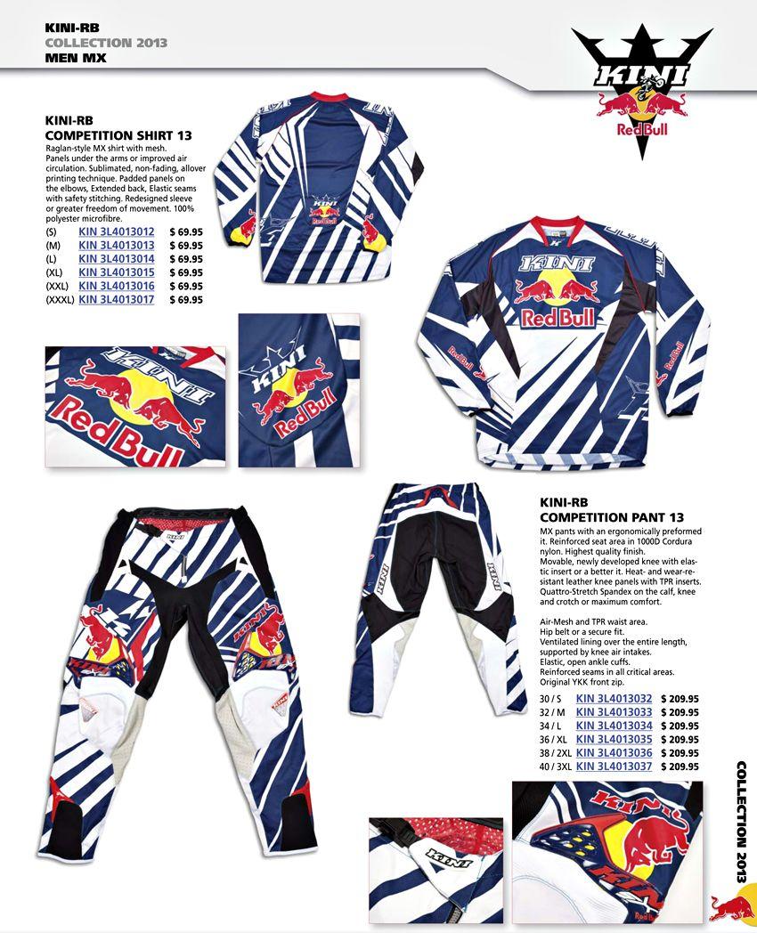 Mx Gear Men Kid Kini Redbull Kinirb Kini Rb Motocross Gear Fox Motocross Gear Fox Motocross