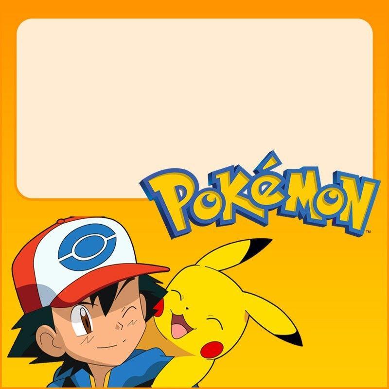 Unique Pokemon Invitations For The Perfect Party