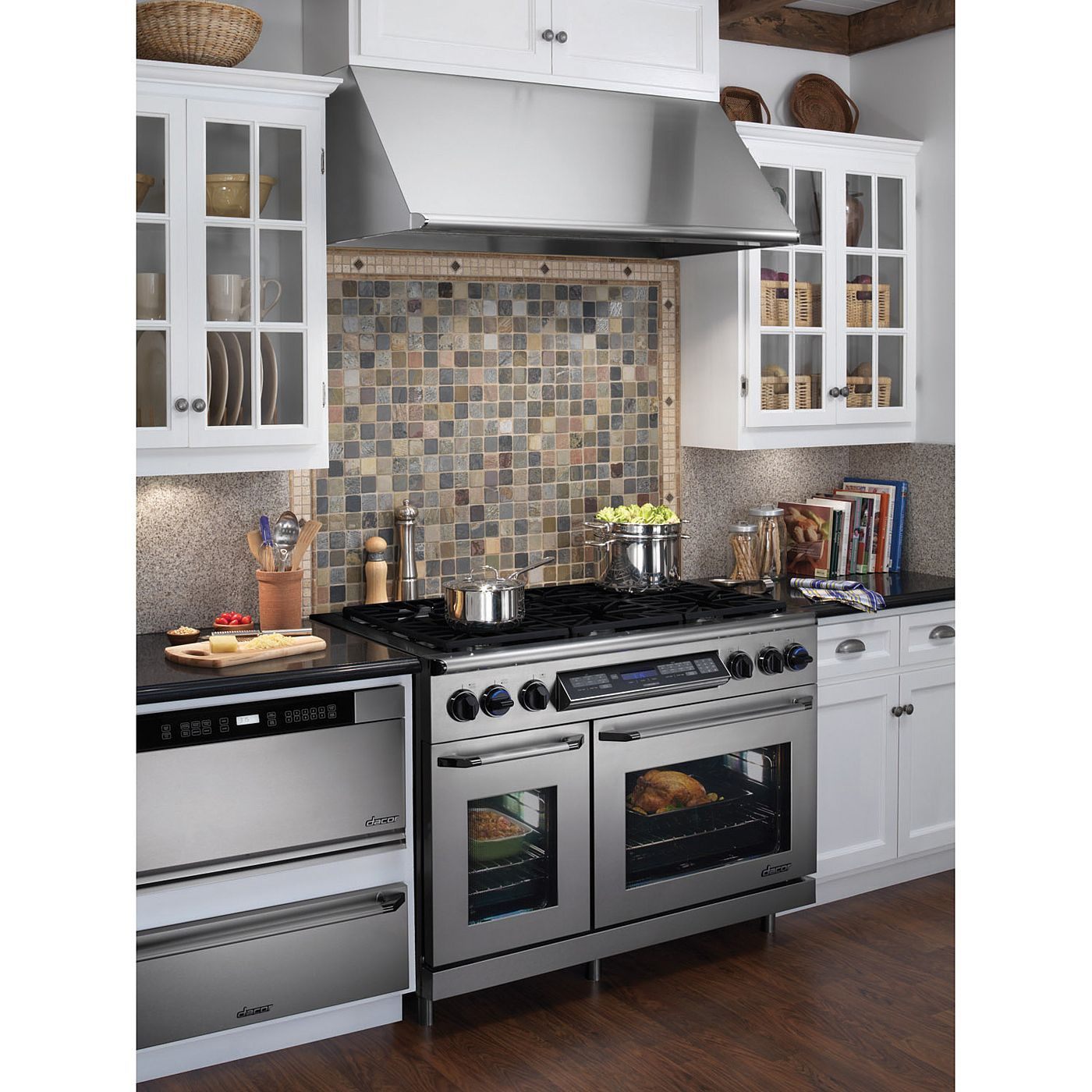 Kitchen Oven Cabinets: Double Oven/6 Burner Stove!
