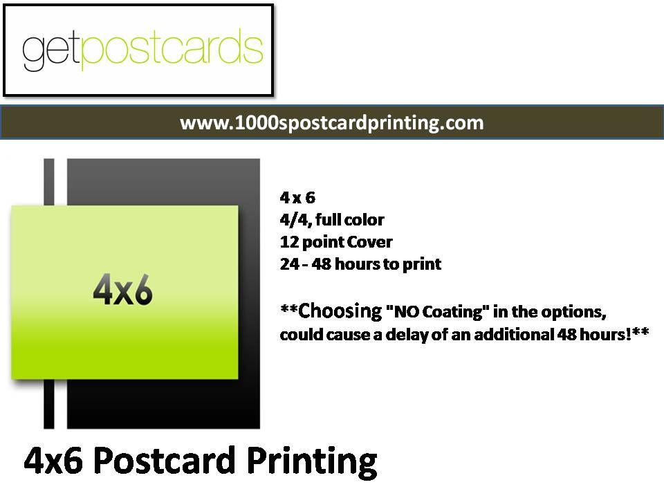 the best 4x6 postcard printing services 1000s postcard printing