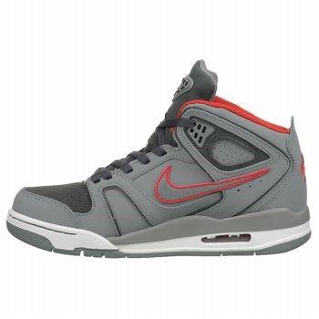 597d444f3a65 Nike Men s Air Flight Falcon Sneakers (Grey Dark Grey Red)