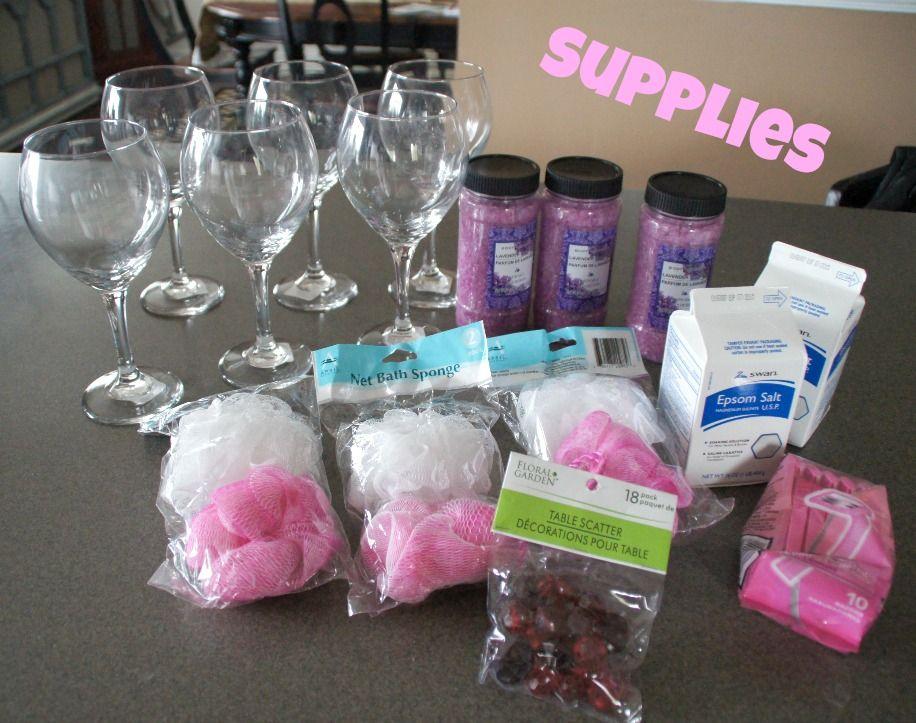 best homemade bridal shower gifts%0A DIY BathSalt Sundaes  A Tween Party   A Sunday Afternoon