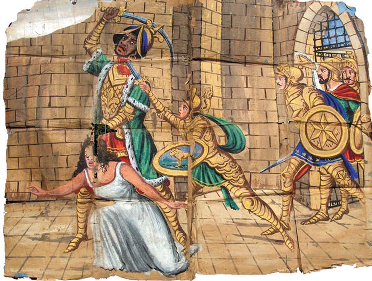 365 Tigreleone libera Sciurà e uccide Diomante di Spagna